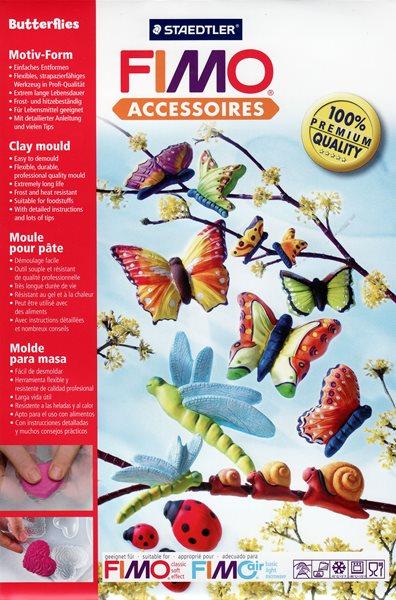Silikonová forma Ceramofix - Motýli