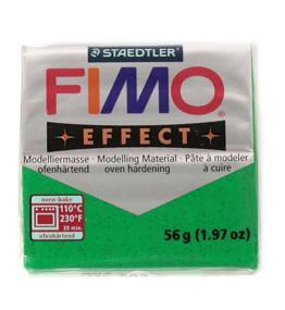 Modelovací hmota FIMO soft 56 g - 502 třpytivý efekt - zelená