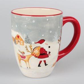 Keramický hrnek 700 ml - Santa