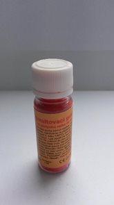 Smaltovací prášek 10g - barva červená