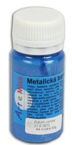 Univerzální barva-metalická 40g barva modrá