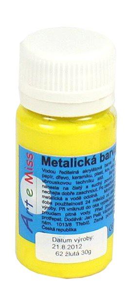 Univerzální barva-metalická 40g barva žlutá