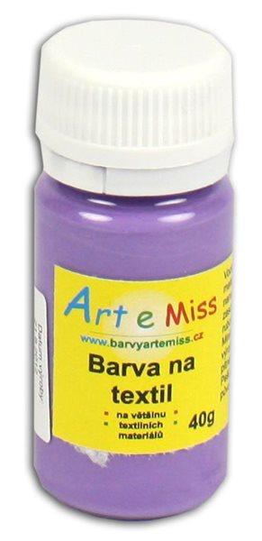 Barva na textil 40g - barva fialová