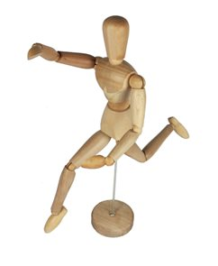 LB figurina mužská 30 cm