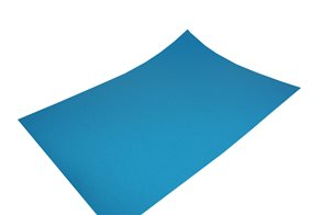 Barevný papír Fabriano Carta Crea, 35x50, azurová modrá - azzurro