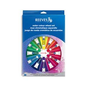 Akvarelové barvy Reeves 14 x 10 ml + příslušenství