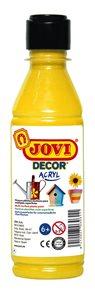 Akrylová barva DECOR AKRYL 250 ml - žlutá