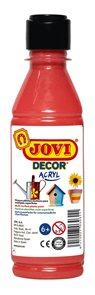 Akrylová barva DECOR AKRYL 250 ml - červená
