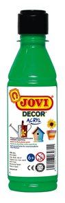 Akrylová barva DECOR AKRYL 250 ml - světle zelená
