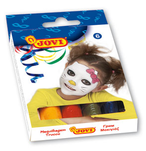 Obličejové barvy Jovi - tyčinka 6 x 17 g