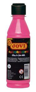 Temperová barva JOVI PREMIUM 250 ml, neonová - Růžová