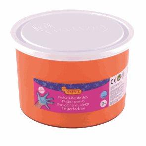 Prstová barva JOVI 500 ml - oranžová