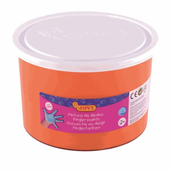 Prstové barvy JOVI - oranžová 500ml