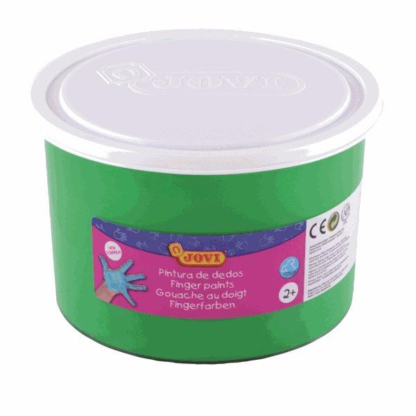 Prstové barvy JOVI - zelená 500ml