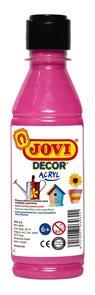 Akrylová barva DECOR AKRYL 250 ml - růžová