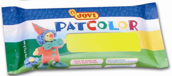 Samotvrdnoucí hmota PATCOLOR 100 g žlutá