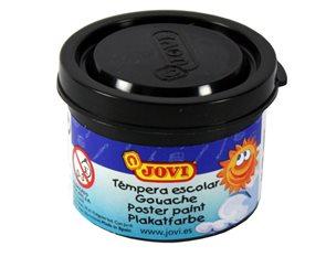 Barva temperová Jovi v kelímku 5×35 ml - černá