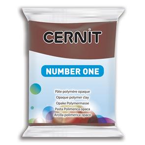 CERNIT Modelovací hmota 56 g - hnědá