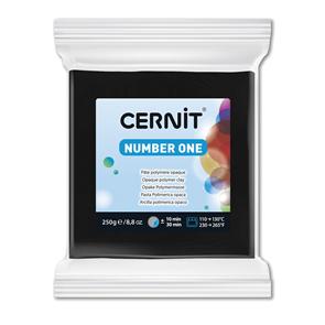 CERNIT Modelovací hmota 250 g - černá