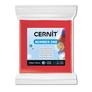 CERNIT Modelovací hmota 250 g - červená