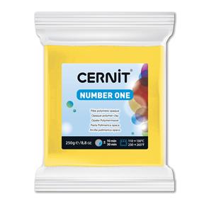 CERNIT Modelovací hmota 250 g - žlutá