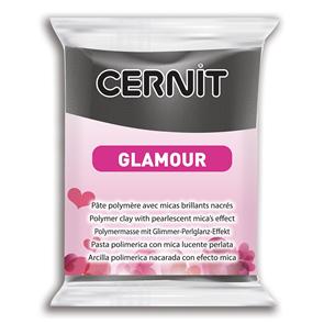 CERNIT Modelovací hmota GLAMOUR 56 g - černá