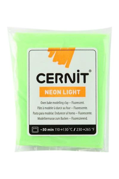Modelovací hmota CERNIT NEON 56 g - zelená