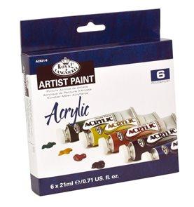 Akrylové barvy ROYAL & LANGNICKEL - 6x21 ml