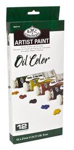 Olejové barvy ROYAL & LANGNICKEL - 12 x 21 ml