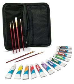 Akvarelové barvy Royal & LANGNICKEL - 12 x 12 ml + 6 x stětec