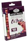 Olejový pastel Royal & LANGNICKEL- 12 ks