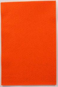 Filcový papír 150 g - barva oranžová