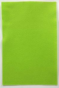 Filcový papír 150 g - barva zelená světlá