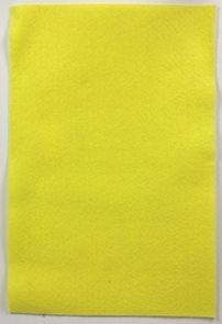Filcový papír 150 g - barva žlutá světlá
