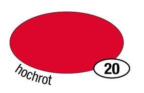 Barevné papíry A2 160 g - červená 25 kusů