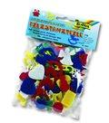 Filcové obrázky - Sada vánočních motivů - 170 ks, mix barev