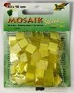 Mozaikové kamínky - tón v tónu mix - barva žlutá