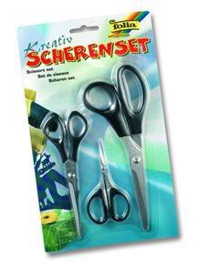 Nůžky - kreativní sada 3 nůžek (velké, střední, na jemnou práci)