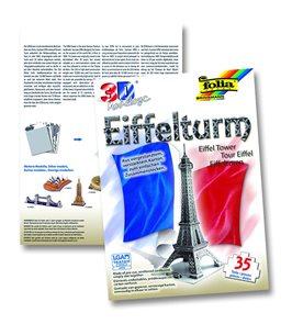 3D modely - Eiffelovka - Paříž (35 dílů)