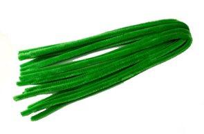Modelovací drátky - průměr 8 mm, délka 50 cm, 10 ks - barva světle zelená