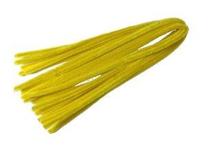 Modelovací drátky - průměr 8 mm, délka 50 cm, 10 ks - barva banánově žlutá