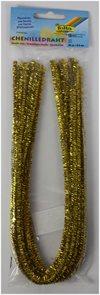 Modelovací drátky - zlaté (10 ks, 50 cm)