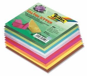 Origami papír barevný 70g/m2 - 10 x 10 cm, 100 archů