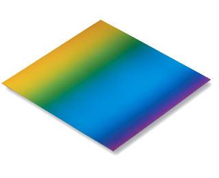 Origami papír duhový 100g/m2 - 15 x 15 cm, 100 archů