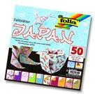 Origami papír Japonsko 80g/m2 - 20 x 20 cm, 50 archů