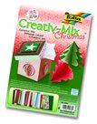 Barevný papír - kreativní mix - Vánoce