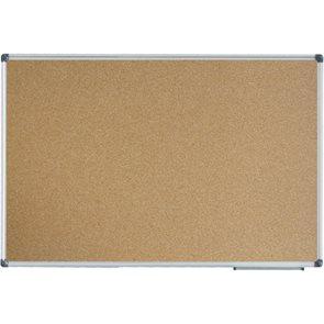 Korková tabule v hliníkovém rámu 60 × 90 cm