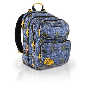 Školní batoh CHI 164 D - Navy