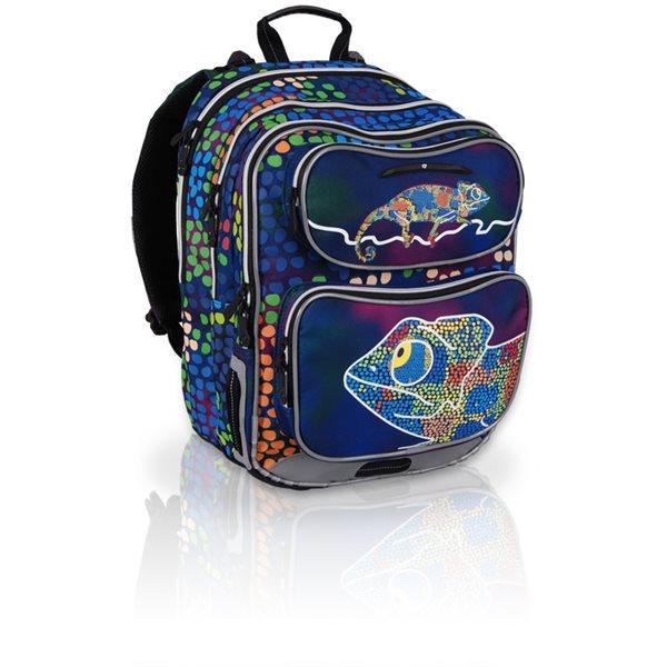 Školní batoh CHI 602 D - Chameleon Blue /Topgal/, Doprava zdarma