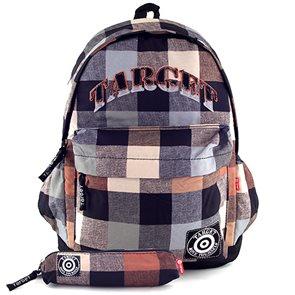 Studentský batoh Target - hnědá